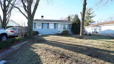 Carpentersville Single Family Home For Sale: 1108 Denver Drive