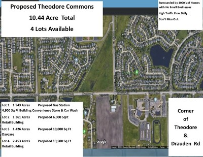 Plainfield Residential Lots & Land For Sale: 0000 West Theodore Street
