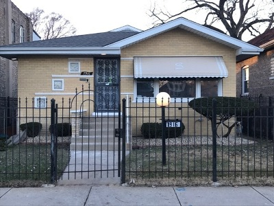 Chicago IL Single Family Home New: $219,000