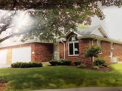 Crete Condo/Townhouse For Sale: 27140 South Quiet Oak Lane