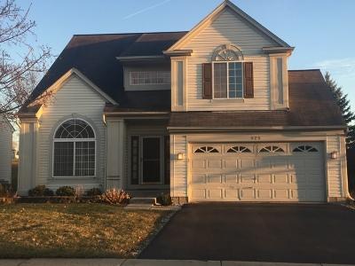 Bartlett Single Family Home New: 525 Rose Lane