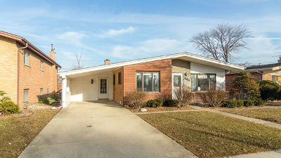 Niles Single Family Home Contingent: 8532 West Clara Drive