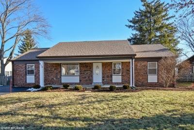 Buffalo Grove Single Family Home Price Change: 810 Essington Lane