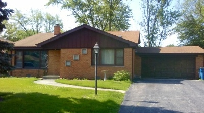 Palos Heights Single Family Home For Sale: 6839 West Edgewood Road