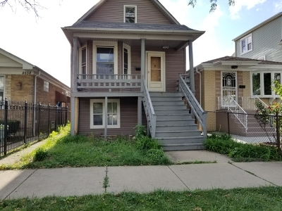 Single Family Home Contingent: 4640 North Harding Avenue