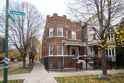 Multi Family Home For Sale: 3534 West Belden Avenue