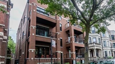 Condo/Townhouse For Sale: 1051 North Damen Avenue #1N