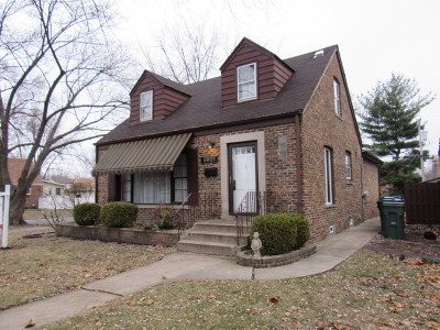 Evergreen Park Single Family Home For Sale: 9901 South Clifton Park Avenue