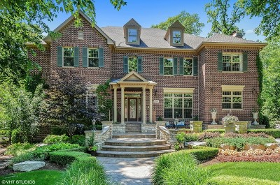 Naperville Single Family Home Re-Activated: 2307 Hazel Court