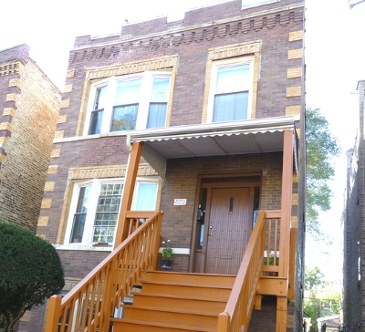 Multi Family Home Contingent: 3138 North Ridgeway Avenue