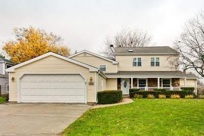 Libertyville Single Family Home For Sale: 1029 Rosewood Terrace