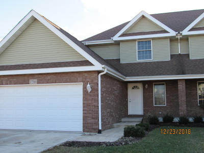 Minooka, Channahon Condo/Townhouse For Sale: 27311 West Deer Hollow Lane