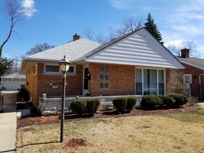 Riverside Single Family Home For Sale: 369 Des Plaines Avenue
