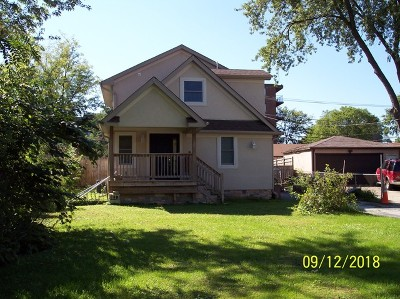 Bensenville Single Family Home For Sale: 110 East Red Oak Avenue