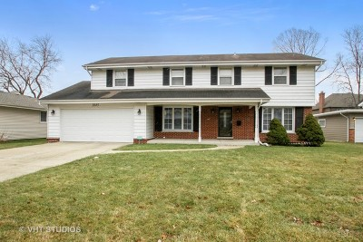 Northbrook Single Family Home For Sale: 3845 Gregory Drive