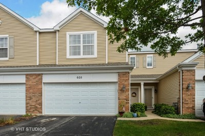 Oswego Condo/Townhouse For Sale: 605 Springbrook Trail North