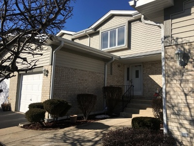 Tinley Park Condo/Townhouse For Sale: 7816 160th Street