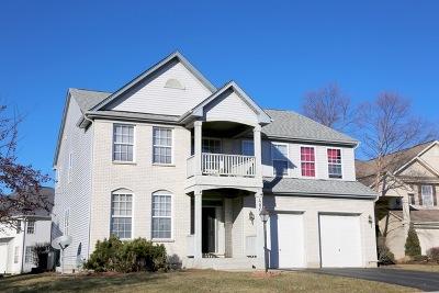 Carpentersville Single Family Home For Sale: 4803 Cedarledge Court