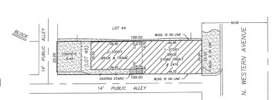 Chicago Residential Lots & Land For Sale: 2416 North Western Avenue