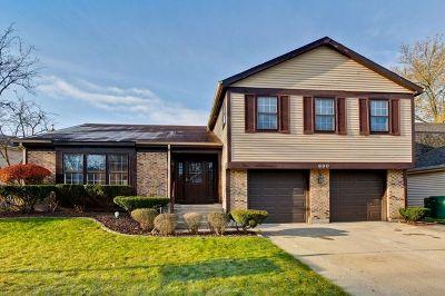 Buffalo Grove Single Family Home For Sale: 600 Cobblestone Lane