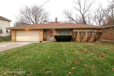 Homewood Single Family Home For Sale: 1901 187th Street