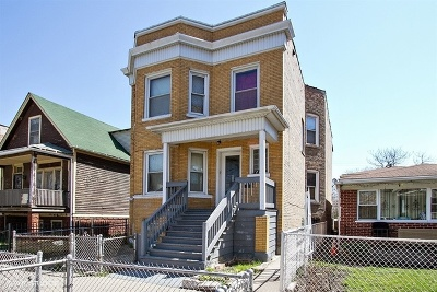 Chicago Multi Family Home For Sale: 7131 South Peoria Street