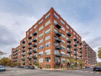 Condo/Townhouse For Sale: 1500 West Monroe Street #727