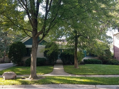 Skokie Single Family Home For Sale: 5341 George Street
