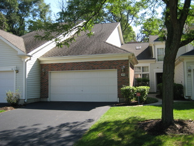 Schaumburg Condo/Townhouse For Sale: 312 Spring Creek Circle