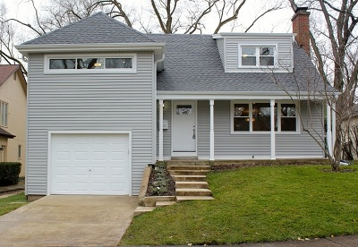 Hinsdale Single Family Home Price Change: 432 South Adams Street