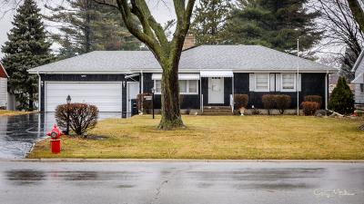 Lansing Single Family Home Contingent: 3532 Bernice Road