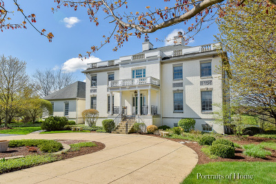 De Kalb, Dekalb, Maple Park, Sycamore, Elburn, Geneva, Gilberts, Hampshire, St. Charles Single Family Home For Sale: 38w447 North Lakeview Circle