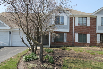 Roselle Condo/Townhouse For Sale: 550 Cumberland Trail #C3