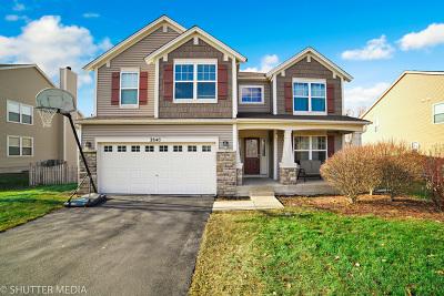 North Aurora Single Family Home Price Change: 2840 Leonard Lane