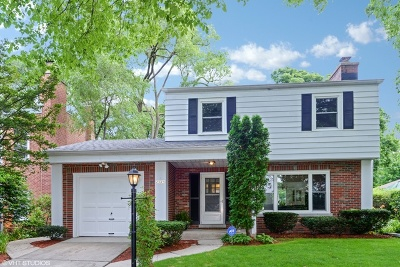 Evanston Single Family Home For Sale: 2525 Greeley Avenue