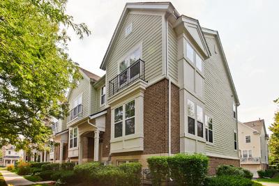 Hanover Park Condo/Townhouse For Sale: 5650 Cambridge Way