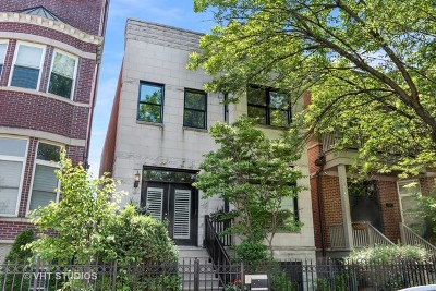 Single Family Home For Sale: 1515 West Altgeld Street
