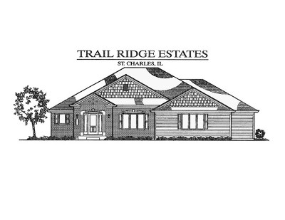 St. Charles Single Family Home For Sale: 5n364 South Ridge (Lot 13) Lane