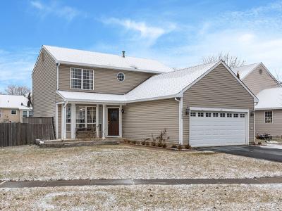 Hanover Park Single Family Home For Sale: 1940 Isle Royal Lane