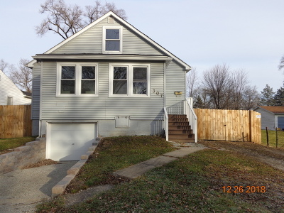 Lockport Single Family Home For Sale: 307 Fairmont Avenue