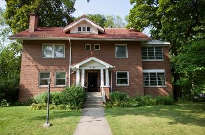 Evanston Single Family Home For Sale: 2501 Harrison Street