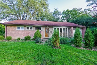 Northbrook Single Family Home For Sale: 1121 Whitfield Road