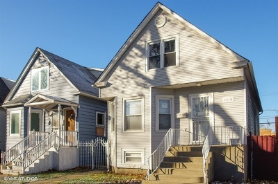 Single Family Home For Sale: 4518 North Harding Avenue