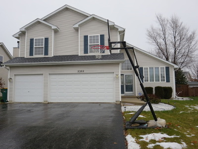 Plainfield Single Family Home For Sale: 2302 Timber Trail