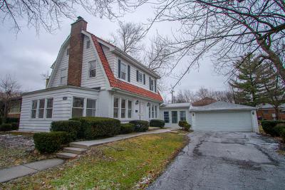 Homewood Single Family Home For Sale: 18435 Dundee Avenue