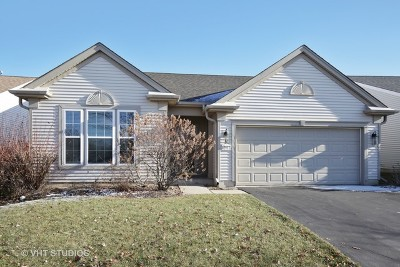 Huntley Single Family Home Re-Activated: 12112 Latham Trail