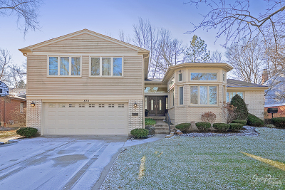 Highland Park Single Family Home For Sale: 870 Timber Hill Road