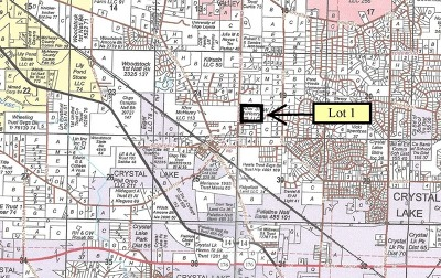 Crystal Lake Residential Lots & Land For Sale: Lt 1 Cherry Valley Road