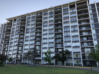 Niles Condo/Townhouse For Sale: 8809 West Golf Road #3I