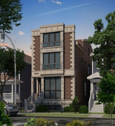 Single Family Home For Sale: 1534 West Oakdale Avenue